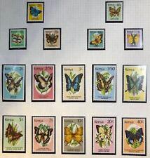 Kenya - 1988 - Butterflies - Complete Set - Unmounted Mint.