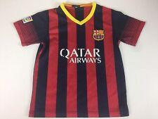 FCB FC Kids 24 7-8 Barcelona Qatar Neymar Jr. Soccer Jersey Unicef #11 Shirt
