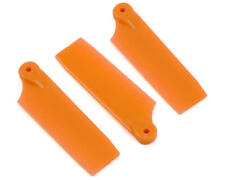 Oxy Heli Tail Blades 3 RC Helicopter 47mm Orange Oxy 3