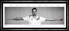 Mitchell Johnson Unsigned Wings L/E Official Print Framed - The Intimidator ACB
