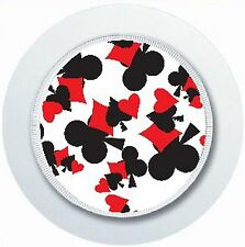 LUCKY PLAYING CARD SUIT POKER TAX DISC HOLDER