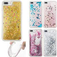 Bling Dynamic Liquid Glitter Quicksand Soft TPU Cover Case For iPhone 7 Plus 6 5