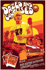 DAZED AND CONFUSED MCCONAUGHEY SILK SCREEN MOVIE POSTER MONDO KELLY #/150 S/N
