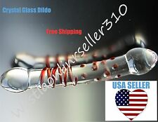 Crystal Dildo Glass Dildo Penis G-Spot Sex Toy Anal Butt Plug Adult Massager Toy