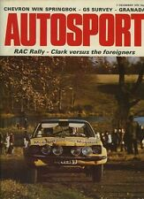 Autosport December 7th 1972 *RAC Rally 1st Stages & Macau Grand Prix*