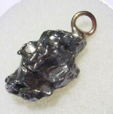 New listing 3.6 grams New Campo Del Cielo Meteorite pendant M-47