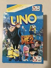 Despicable Me uno CARDS Family Fun Playing Card Educational Theme Board Game