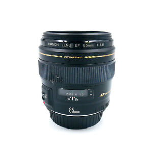 Canon EF 85 mm 1:1,8 USM second hand