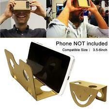 DIY Google Cardboard 3D Glass VR Virtual Reality For iPhone 6 Samsung S7 HTC S7