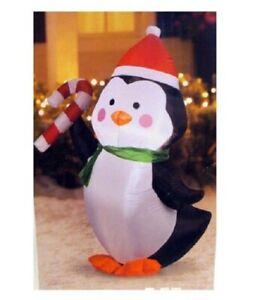 Gemmy Industries Yard Inflatables Penguin, 4 ft nib