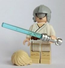New LEGO Star Wars Minifigure - Luke Skywalker with Grey Visor on Head - Helmet