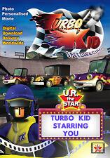 Turbo Kid Personalised Movie starring YOU!!! Digital Download $39.95