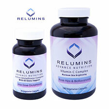 Relumins Advance Nutrition Active 6X Glutathione Complex & Vitamin C MAX Caps