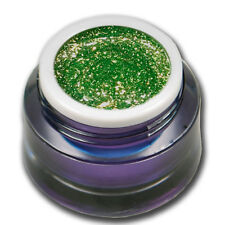 5ml Chrome Sparkle Glitter UV Gel Caipirinha Grün Farbgel Colorgel #01541-17