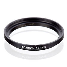 40.5mm to 43mm 40.5-43 40.5-43mm40.5mm-43mm Stepping Step Up Filter Ring Adapter