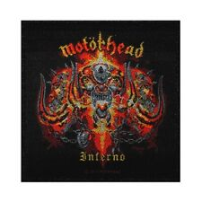 Motorhead Inferno Patch Album Cover Art Heavy Metal Music Woven Sew On Applique