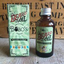 BOBOS BEARD COMPANY YLANG YLANG BEARD OIL 50ML WITH A FREE BEARD BOOSTING OIL