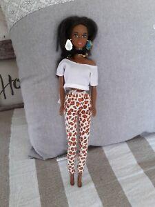Barbie christie black