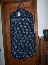 NWT VERA BRADLEY Garment Bag BLUE COIN Suit Dress Travel Luggage VINTAGE