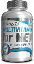 BioTech USA - Multivitamin for Men, 60 Tabletten - Antioxidantien, Mineralien -
