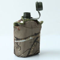Traveling Army Military Canteen Hydration Water Bottle Outdoor Camping Hiking