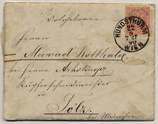 ÖSTERREICH 1890 AUSLANDSBRIEF (mit Inhalt) WIEN/HUNDSTHURM - TÖLZ (Deutschland)