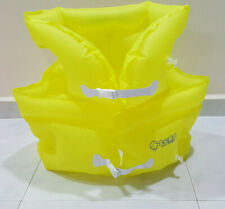 Yellow Colour Extra Large Inflatable Swim Vest For Adult
