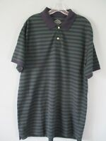 St. John's Bay Men's Size L Short Sleeve Polo Shirt