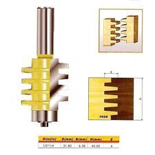 "Reversible Finger Joint Glue Joint Router Bit - 1/2*1/4 - 1/2"" Shank -"