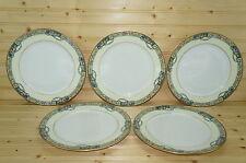 "Thomas Columbia Bavaria Lot of (5) Dinner Plates,  10"""