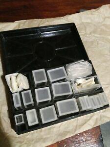Set Optical Glass Cuvette 5 10 20 30 50mm, spectrometer glass cells  ussr box