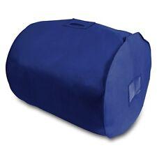Duvet Storage Bag - Breathable Fabric - Navy Blue - King Size Bedding Storage