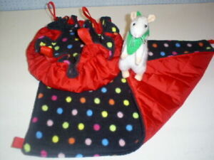 Small HANGING BED & HAMMOCK Set-- Pet Rats--Degus various choices to choose from