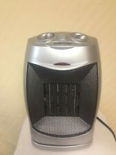 Oscillating Desktop Space Heater 1500 W Multi-Speed-Adjustable Thermostat NEW