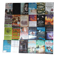 Joblots Wholesale of 24 Fiction Books Collection Set Pack