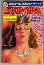 A classic vintage paperback edition of Europa, Great Cover art 1950 nice