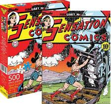 AQUARIUS JIGSAW PUZZLE DC COMICS WONDER WOMAN COVER 500 PCS #62106