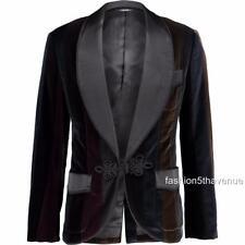 Dolce & Gabbana Velet Blazer Jacket IT52 US42 UK42 RRP2800GBP New
