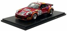 Coches de carreras de automodelismo y aeromodelismo rojos Spark Le Mans