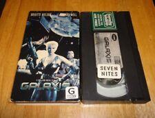 Galaxis (VHS, 1995) Brigitte Nielsen Richard Moll Cult Sci-Fi Action - Rare