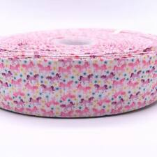 "Multi Unicorn 1.5""  38mm Grosgrain Ribbon per meter"