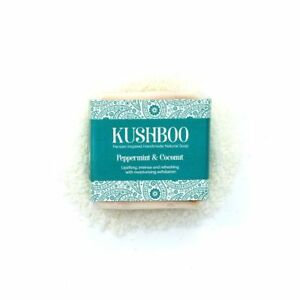 Luxury Peppermint and Coconut Artisan Natural Uplifting & Moisturising Soap Bar