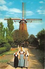 BT1223 wissenkerke netherlands windmolen winmill types folklore costumes
