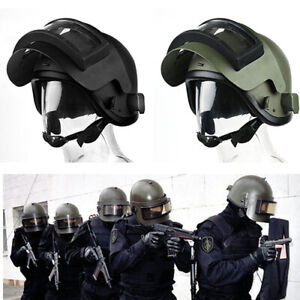 Tactical Copy Welding Iron Helmet With Mask