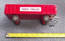 Vintage Tin Cargo Trailer (No Friction Tractor)