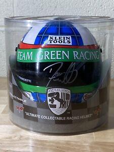 Dario Franchitti Signed Team Green Norman James Mini Indy Helmet Indycar CART