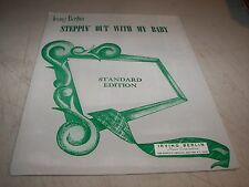 STEPPIN' OUT WITH MY BABY EASTER PARADE SHEET MUSIC IRVING BERLIN