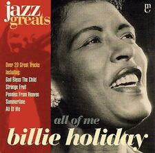 Billie Holiday: All Of Me - CD (1995)