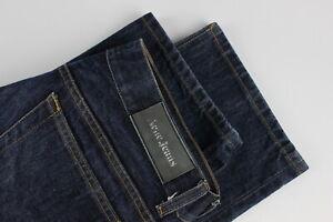 ACNE Jeans MIC RIGID Men's W34 L31 Straight Fit Zip Fly Blue Jeans 31173-GS