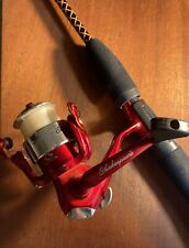 RARE SHAKESPEARE UGLY STIK 5' SPINNING ROD & REEL PK, 2-PIECE LIGHT ROD #SPL1101